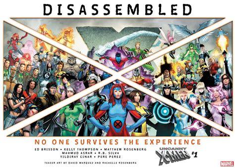 uncanny disassembled marvel every weekly returning mutant series story threatens destruction rosenberg ign publishers marquez david teaser comics