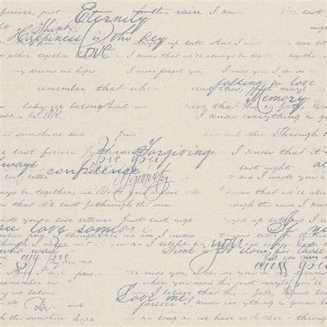 Rasch Tapete Grau by Tapete Vlies Vintage Schrift Grau Rasch Florentine 449587