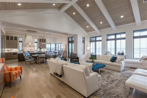 big family room with living room traditional and clear shade