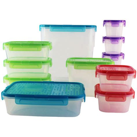 Food Storage Containers Kitchen Snapware Airtight 24 Pc