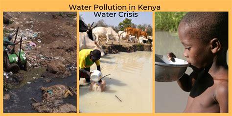 water pollution crisis kenya  statistics