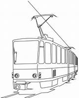Train Coloring Electric Pages Cartoon Passenger Clipart Express Polar Children Colouring Cat Fan Tram Trains Cartoons Printable Clip Bridge Printables sketch template
