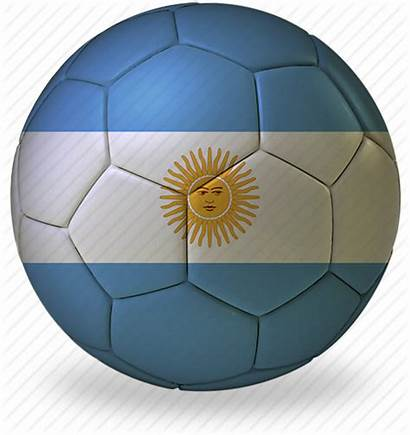 Argentina Football Cup Soccer Ball Flags Icon