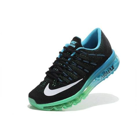 nike airmax by pray shoes nike airmax 2016 black blue green sport shoes give an