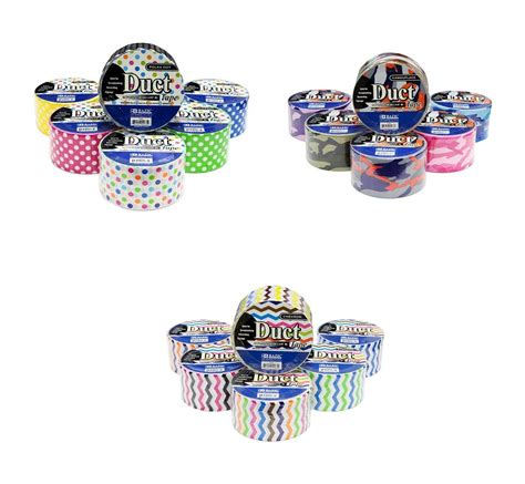 18 roll variety pack decorative duct style polka