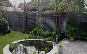 Garten Sichtschutz Modern : sichtschutz holz modern kunstrasen garten ~ Michelbontemps.com Haus und Dekorationen
