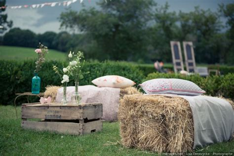 inspirations pour  mariage champetre