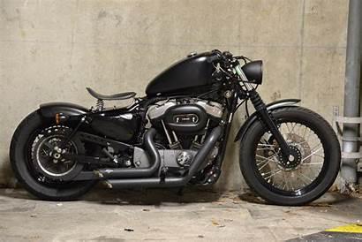 Harley Davidson Nightster Bobber Parking Cool Sportster