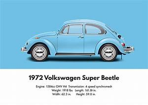 71 Superbeetle Vw Blue