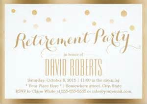 Retirement Invitation Card Template
