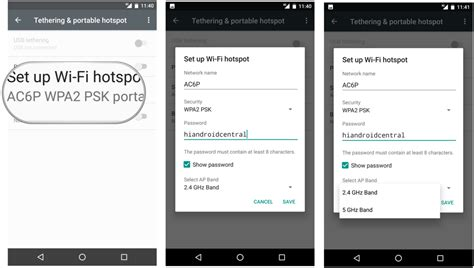 how to set up hotspot on android how to set up a wi fi hotspot on an android phone