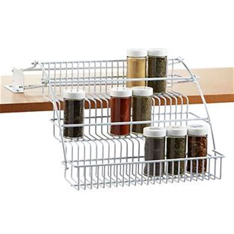 Container Store Spice Rack by Pull Out Spice Rack Rubbermaid Pull Spice Rack