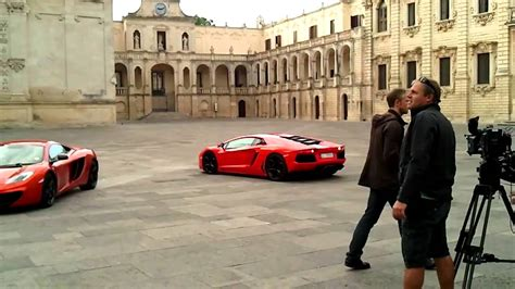 Top Gear Shooting In Lecce