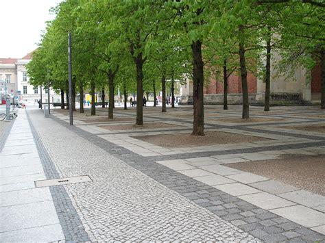 pavement landscape design berlin pavement streetscape germany paving pinterest pavement pedestrian and stone