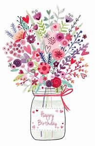 bd happy birthday joyeux anniversaire bouquet de With chambre bébé design avec bouquet fleur pour anniversaire