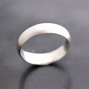 men39s wedding band matte 5mm half round brushed unisex With matte wedding ring mens