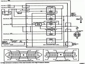 Ford Mustang Cooling Fan Wiring Diagram