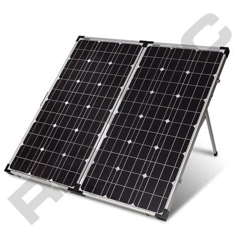 solar panels png 160 monocrystalline folding solar panel redarc