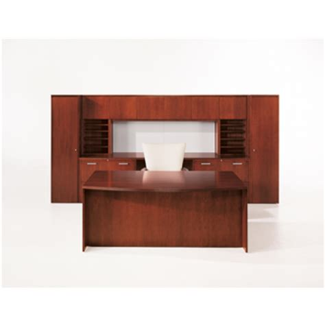 jofco reflections executive desk with storage credenza