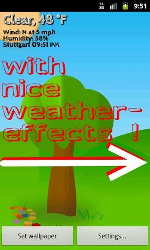 Animated Weather Wallpaper Android - animated weather wallpaper for android wallpapersafari