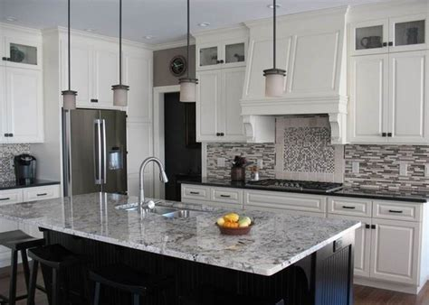white kitchen granite ideas white granite countertops for a fantastic kitchen decor