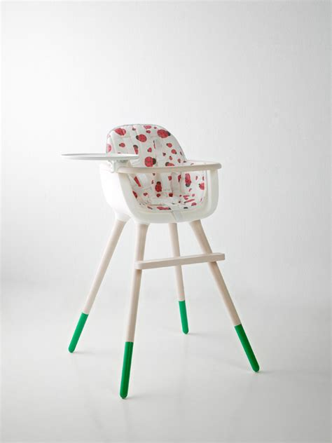 mid century modern ovo high chair by micuna