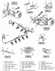 Schematics And Diagrams  Parking Brake Cables Removal And