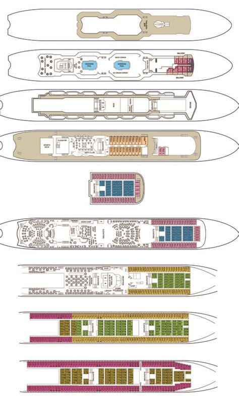 celestyal cruises  ms celestyal olympia deck plan  goway