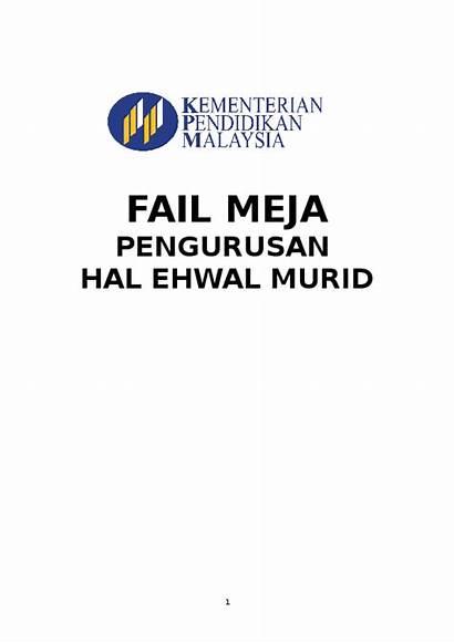 Meja Fail Ehwal Murid Pengurusan Hal Academia