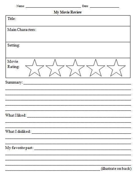 awesome review template worksheet ag