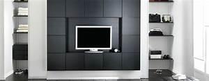 Meuble Tv Avec Rangement Design