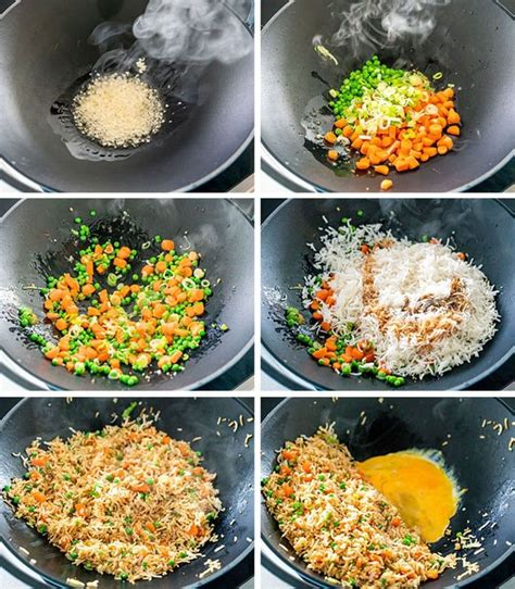 super quick and easy fried rice in less than 10 minutes this fried rice is very versatile made