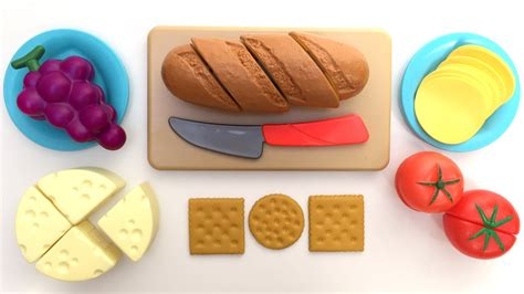 cuisine toys r us just like home bread and cheese set cutting food