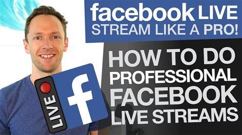 facebook  stream   pro    professional