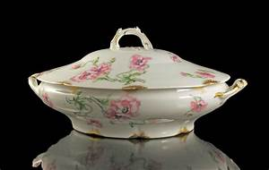 Antique Covered Vegetable Bowl Theodore Haviland Limoges