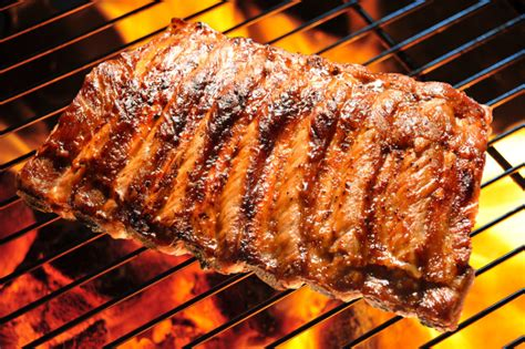 grilled meat is better for you when marinated in beer