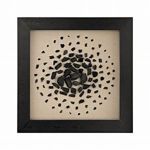 Black and white carbon shadow box by dimond home seven