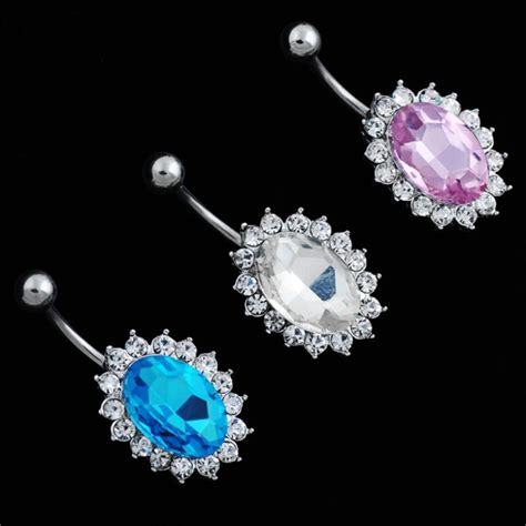 hot sale puncture body jewelry  women navel ring