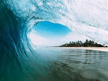 Waves Moving Gifs Crashing Paradise