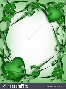 St. Patrick's Day Card Irish Background Stock Illustration ...