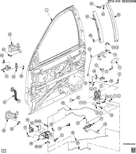 Saturn Door Diagram by Lokation 2008 Honda Civic Parts Diagram2008 Saturn Vue Xe