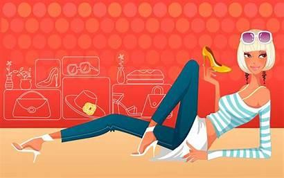 Shopping Wallpapers Desktop Backgrounds Fondos 1x0 Blogueirinha