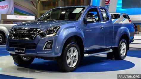 isuzu dmax isuzu d max facelift extended cab seen in bangkok
