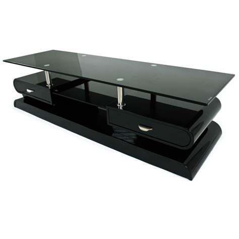 cuisine moderne blanc laqué meuble tv monza tele lcd plasma laque noir meuble tv