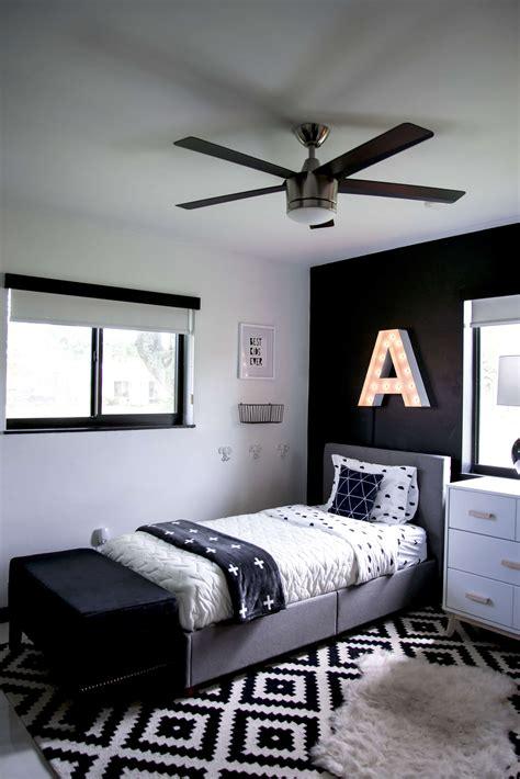 modern black and white bedroom sedam ideja za uređenje dječije sobe azra magazin 19240   crno