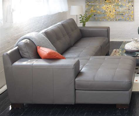 grey leather chaise sofa sectional sofa design gray leather sectional sofa