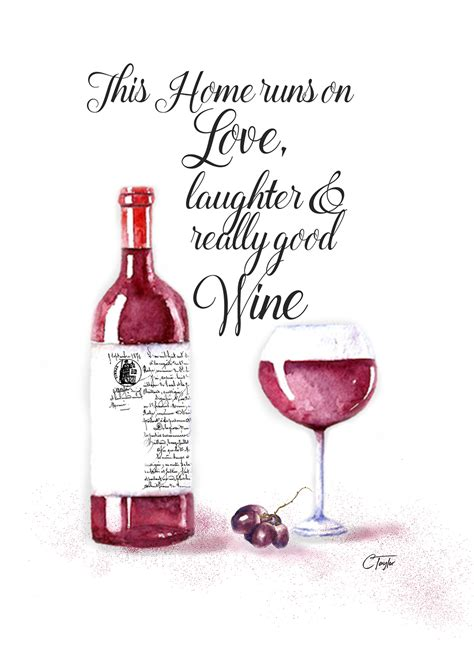 wine birthday wine birthday card by taylor art and design handmade for blow
