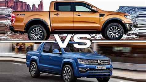 2019 Ford Ranger Vs 2018 Volkswagen Amarok Youtube