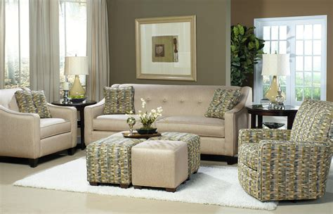 craftmaster sofa in emotion beige craftmaster 7069 contemporary sleeper with button