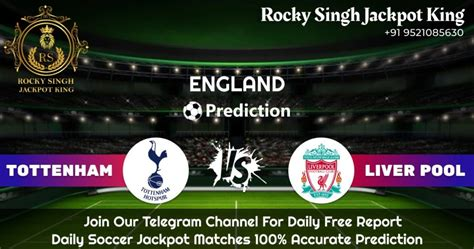 SOCCER PREDICTION::Tottenham V/S Liverpool   LIVE ODDS ...